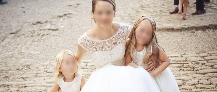 Robe de mariée princesse (Partie 1)