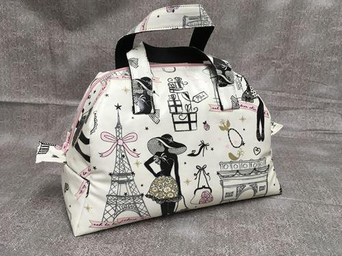 Lunch box tissu «Mon Paris»