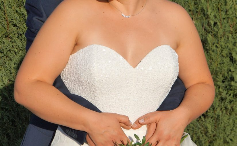 Robe de mariée bustier brodé (partie 1)